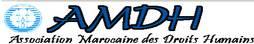 Association Marocaine des Droits Humains  francés, árabe, español, alemán